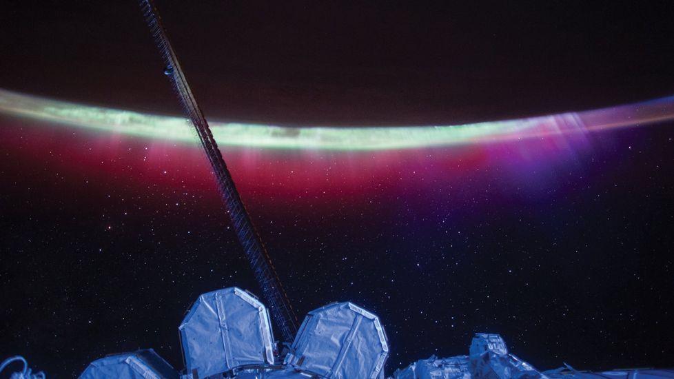 Imagen tomada por el astronauta Scott Kelly