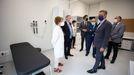 El presidente de la Xunta visitó las instalaciones en el acto de inauguración oficial