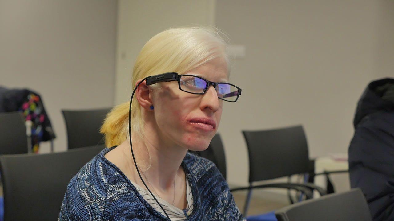 El «wearable» que permite «ver» a los ciegos