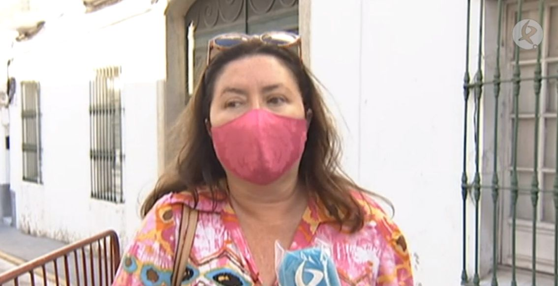 La asturiana Magdalena Fernández Peña quien halló una granada de la Guerra Civil