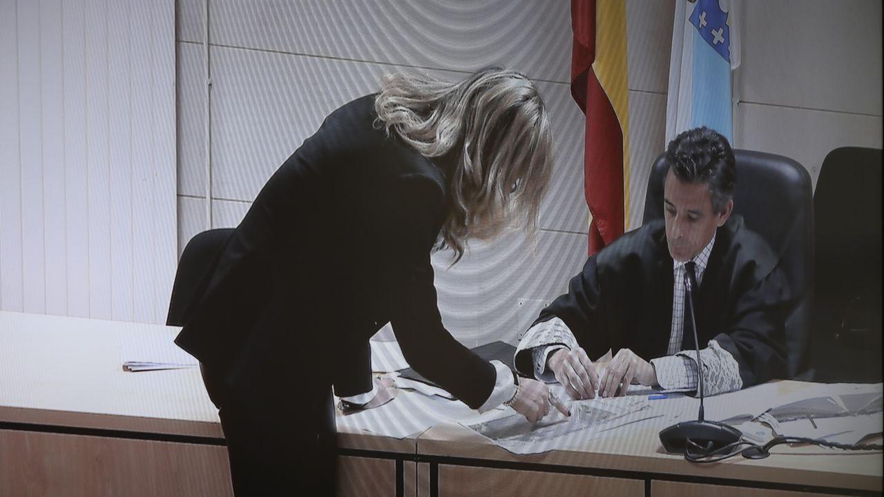 La madre de Diana Quer fue una de las personas que prestó declaración en la primera sesión del juicio