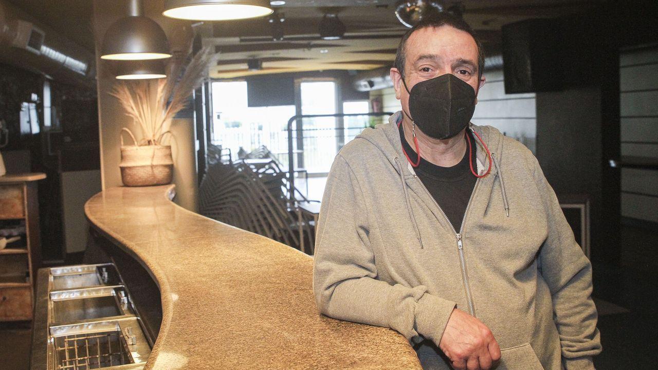 El hostelero boirense Francisco Rey reclama un plan de rescate para el sector