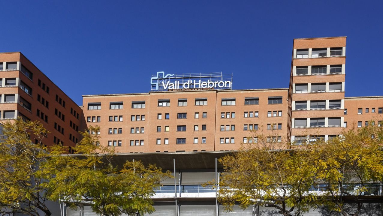 Fachada del Hospital Vall d'Hebron, en Barcelona
