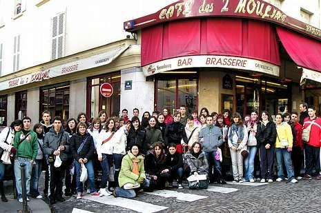 El último viaje realizado al extranjero, a la capital francesa.
