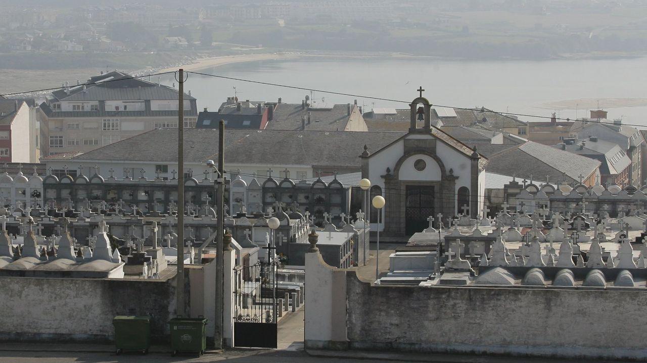 Imagen de archivo del cementerio de Foz