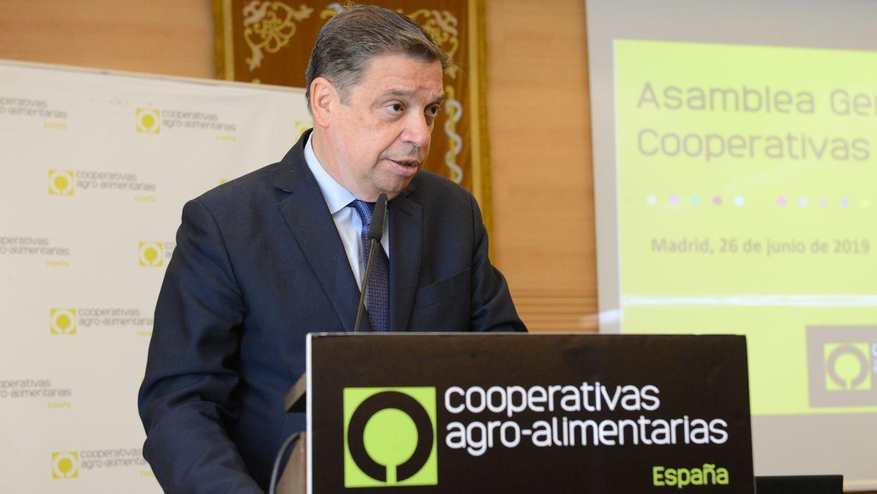 El ministro de Agricultura intervino en la clausura de la Asamblea de Cooperativas Agro-Alimentarias
