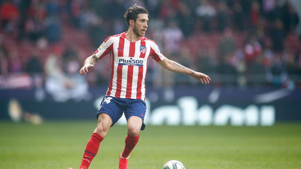 Vrsaljko, segundo positivo del Atlético de Madrid y que le ha impedido viajar a Lisboa.