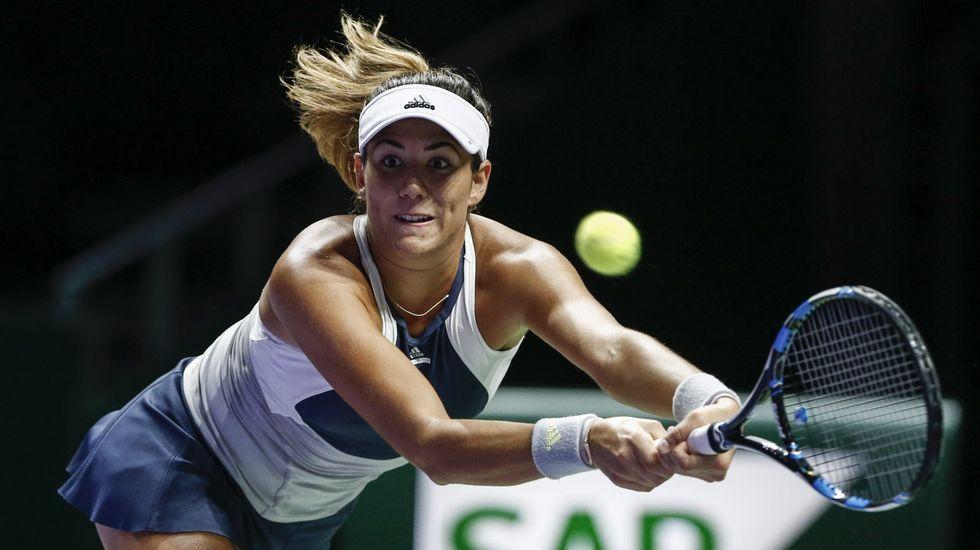 Garbiñe Muguruza cae en semifinales de Singapur ante Radwanska