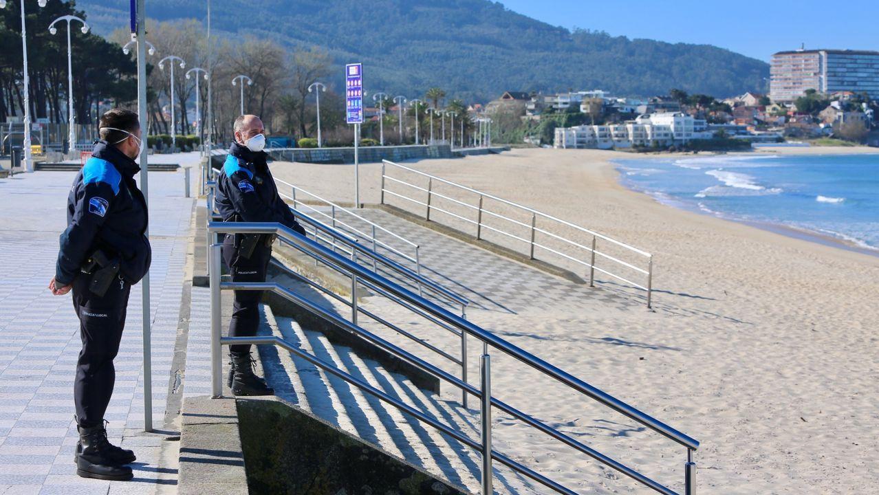 Día del trabajador marcado por el coronavirus en Vigo