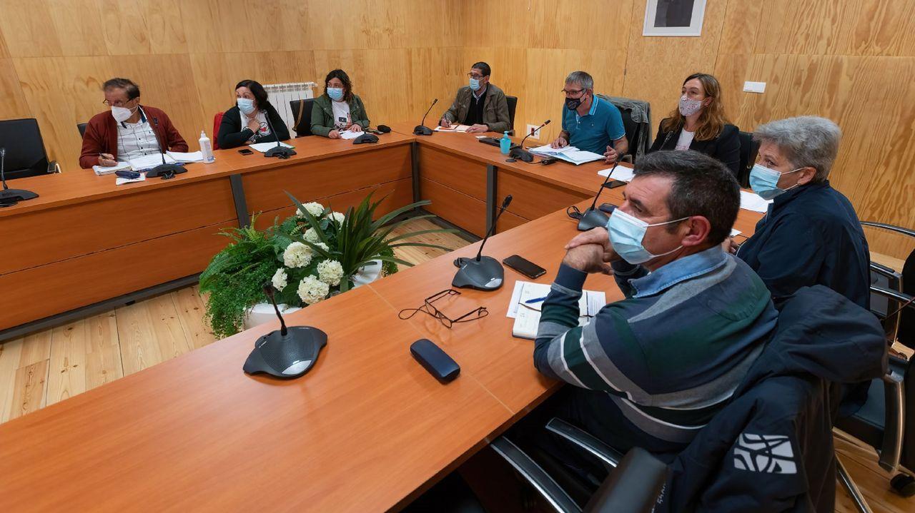 Pleno en la corporación municipal, en una imagen de archivo