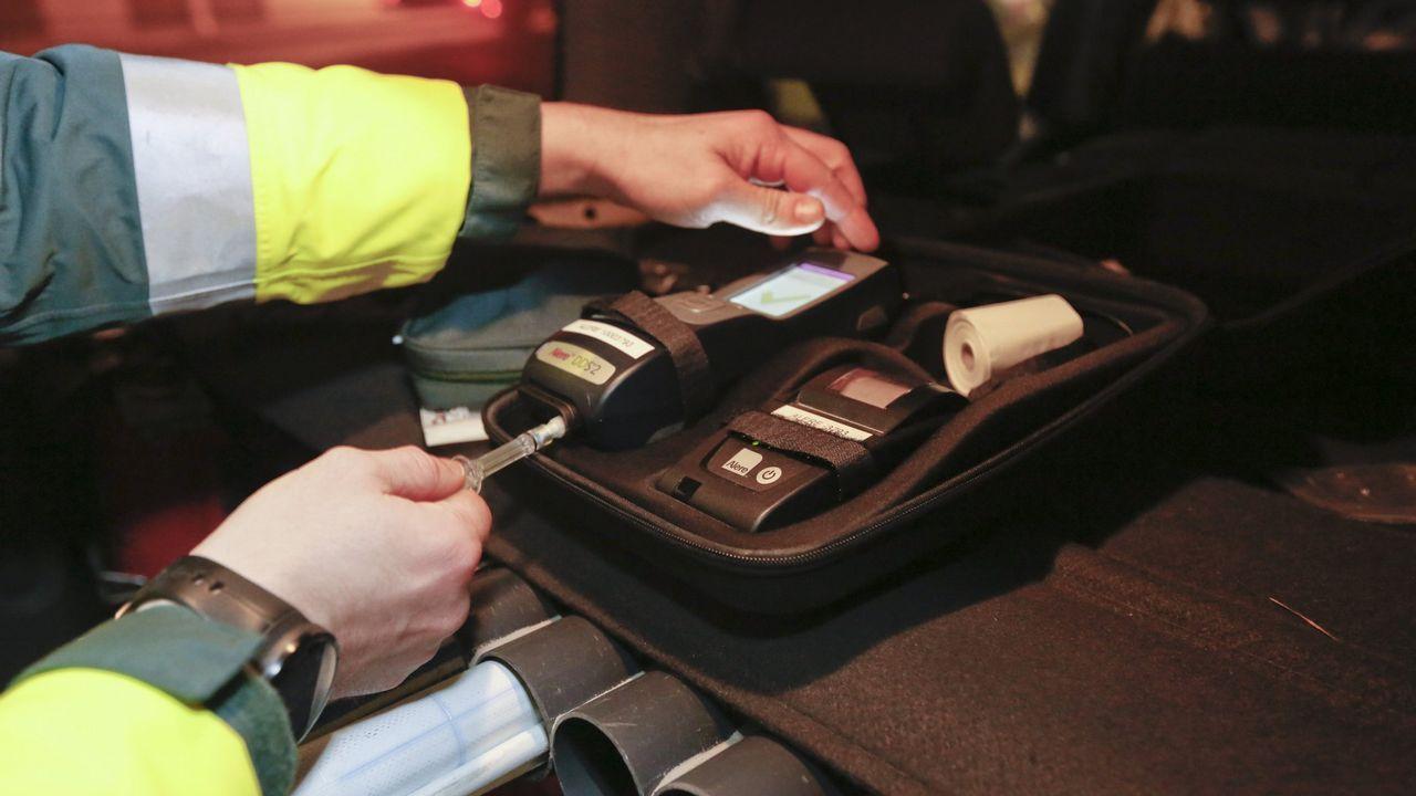 Imagen de archivo de un test de drogas