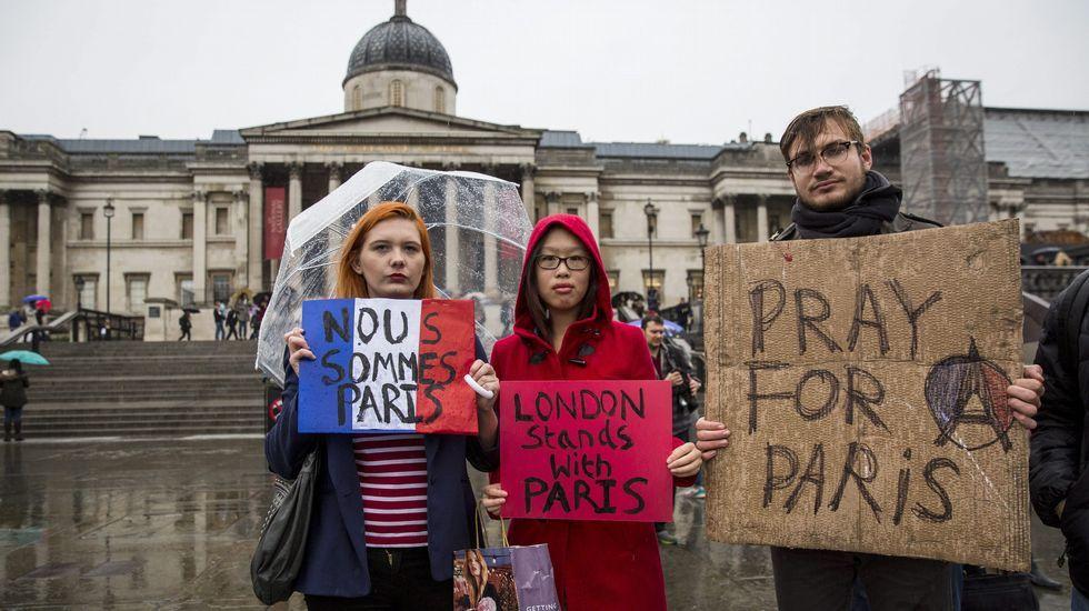 Solidaridad en Londres.