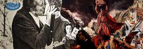 Sarkozy siempre sale en la foto.Un visitante pasa ante la espectacular obra de Richard Hamilton «Este es el mañana. Instalación del Grupo 2», en el Museo Reina Sofía.