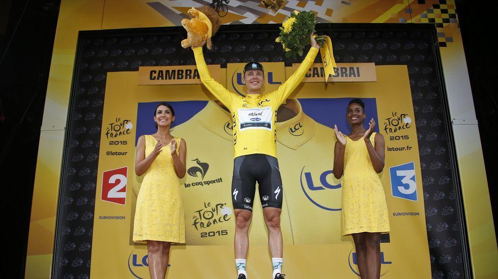 Tony Martin nuevo maillot amarillo