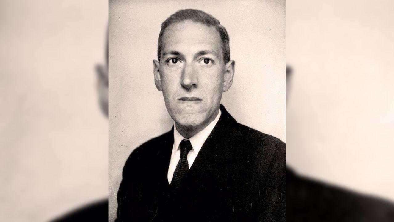 El escritor H. P. Lovecraft