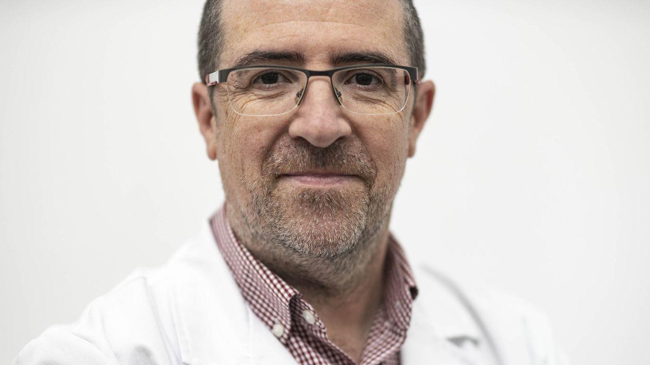 Félix Rubial, gerente del área sanitaria provincial en Ourense