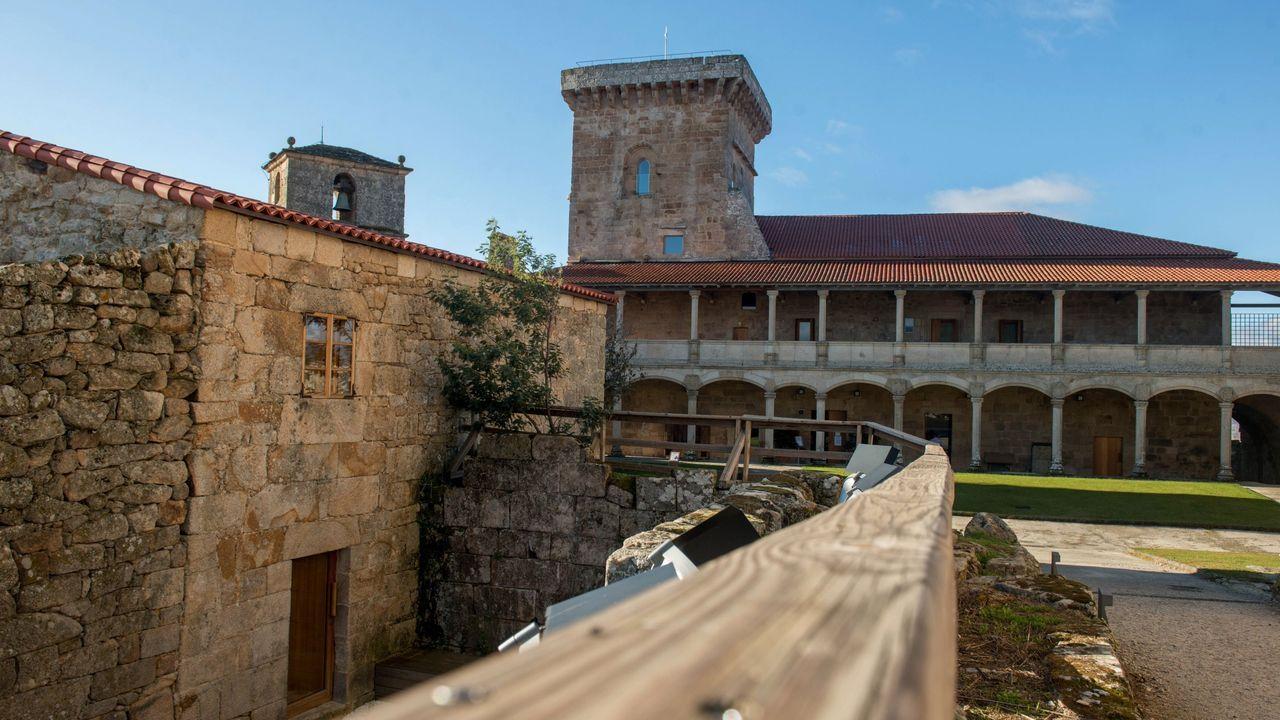Nuevas instalaciones deportivas en el complejo de Monterrei.La muestra puede visitarse en el antiguo Hospital da Trinidade, en la Acrópolis de Monterrei