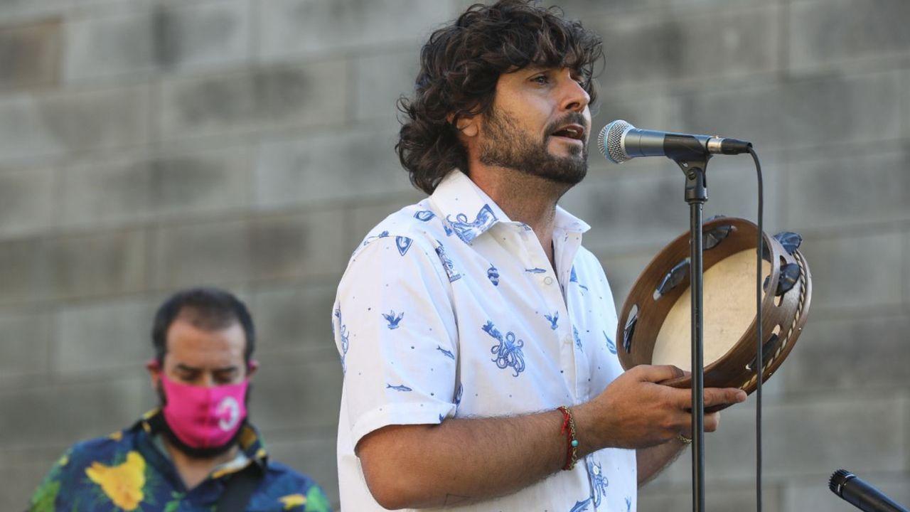 Guadi Galego actúa en el Auditorio de Vilalba