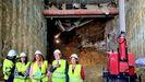 El túnel de Lepanto con la AP-9 en Vigo, más cerca