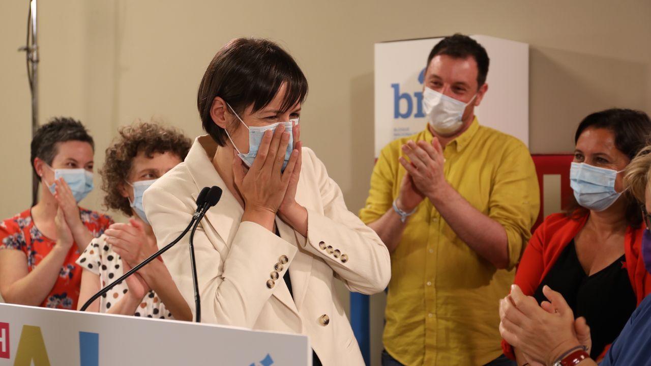 Ana Pontón valoró este lunes los resultados electorales en Galicia