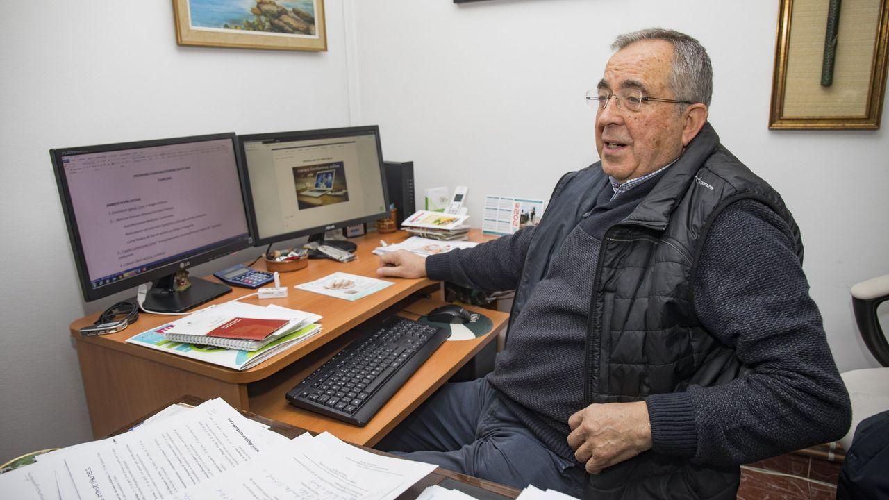 José García Gondar, en su despacho.