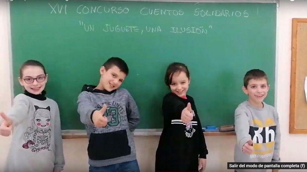 Vídeo premiado de los alumnos del colegio de Sober.Viñas con diferentes altitudes y orientaciones en una ladera de la ribera de Doade