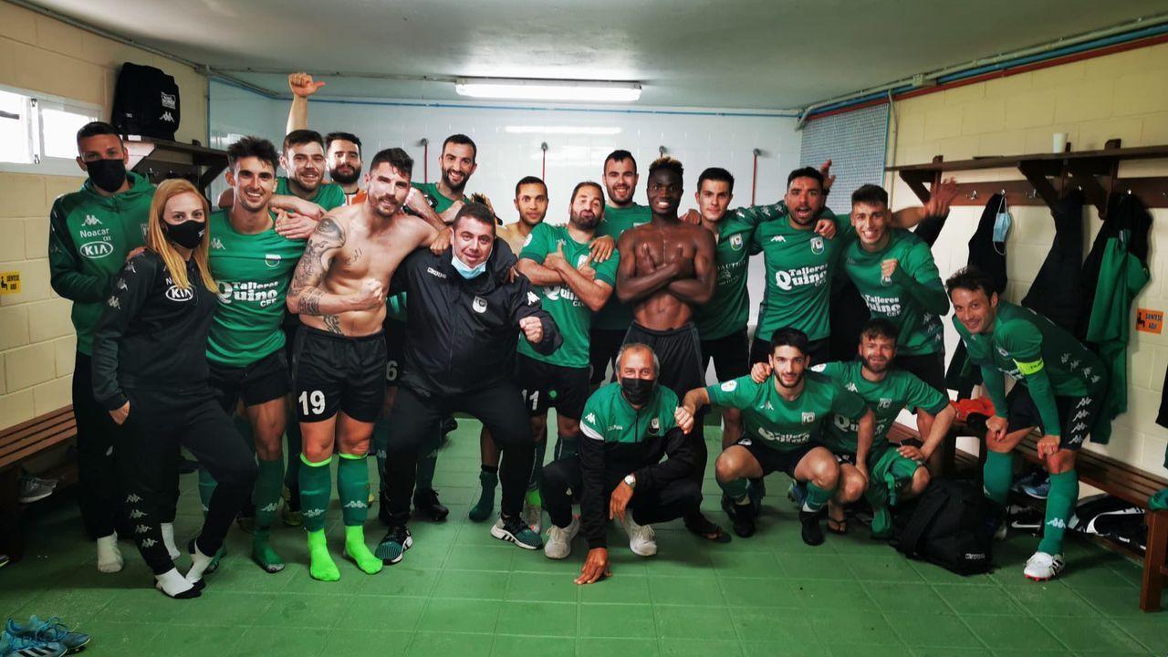 Las imágenes del partido entre el CF Umia y el UD LLanera