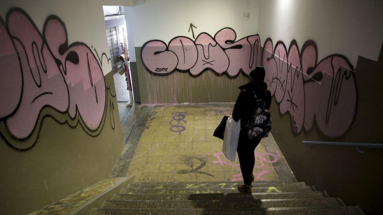 Géiser.Los hechos ocurrieron en el interior de la cárcel de Teixeiro