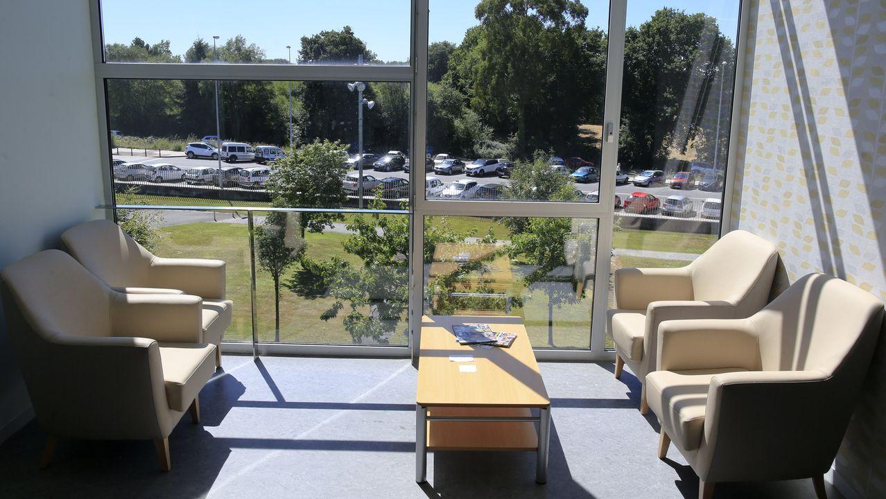 Sala de espera de Paliativos del HULA