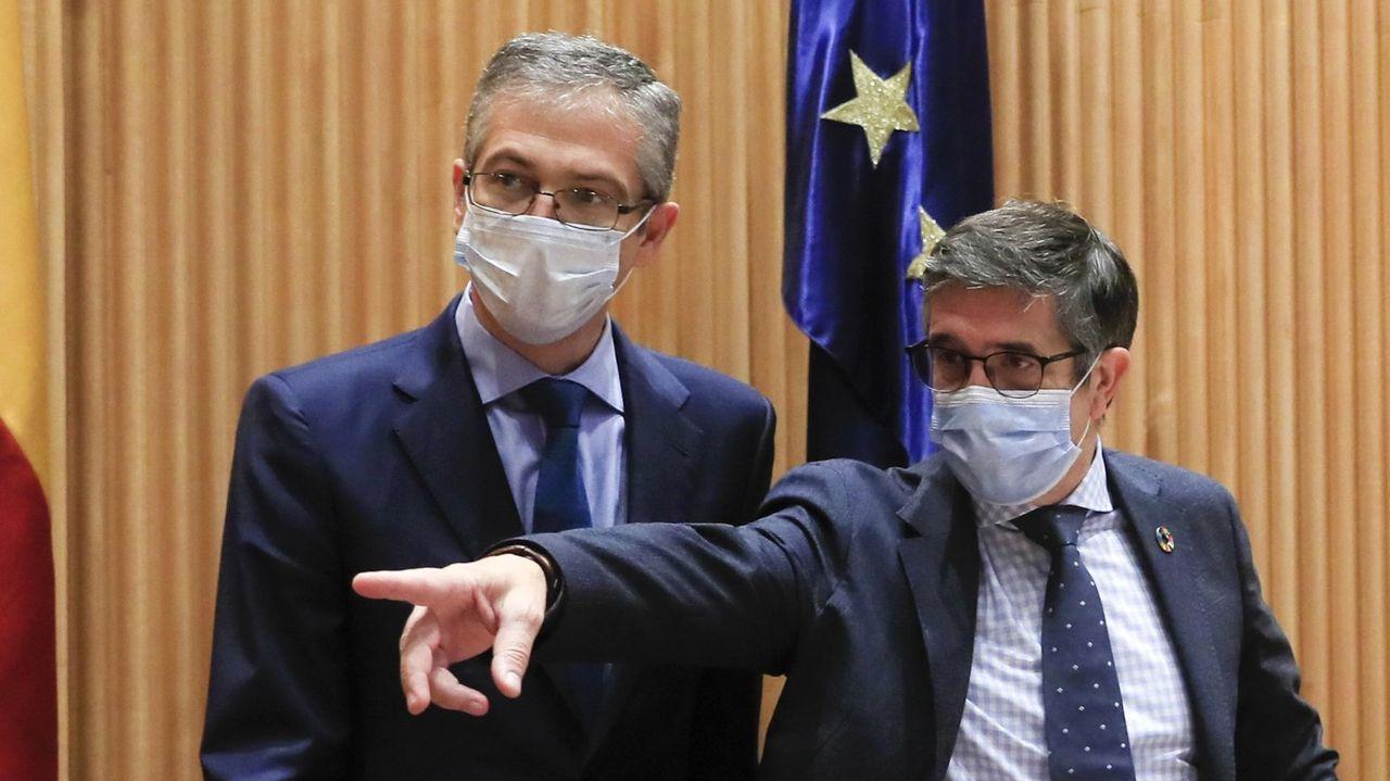 El candidato del PNV, Iñigo Urkullu, en un acto en Bilbao