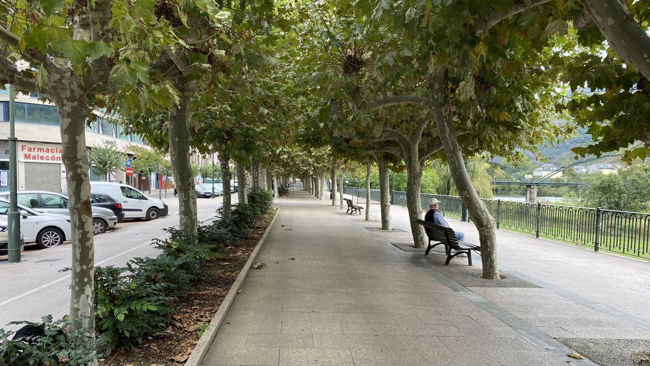 Imagen del centro de O Barco