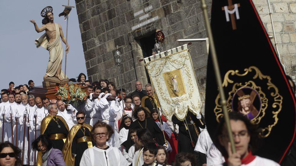 Procesión de Jesús Glorioso (Porto do Son).