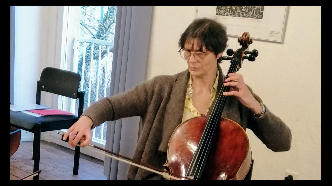 Xulia Nogueira, directora do Coro Mestre Pacheco de Mondoñedo