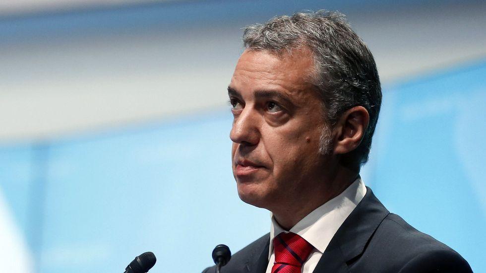 Iñigo Urkullu, lendakari y candidato a la reelección