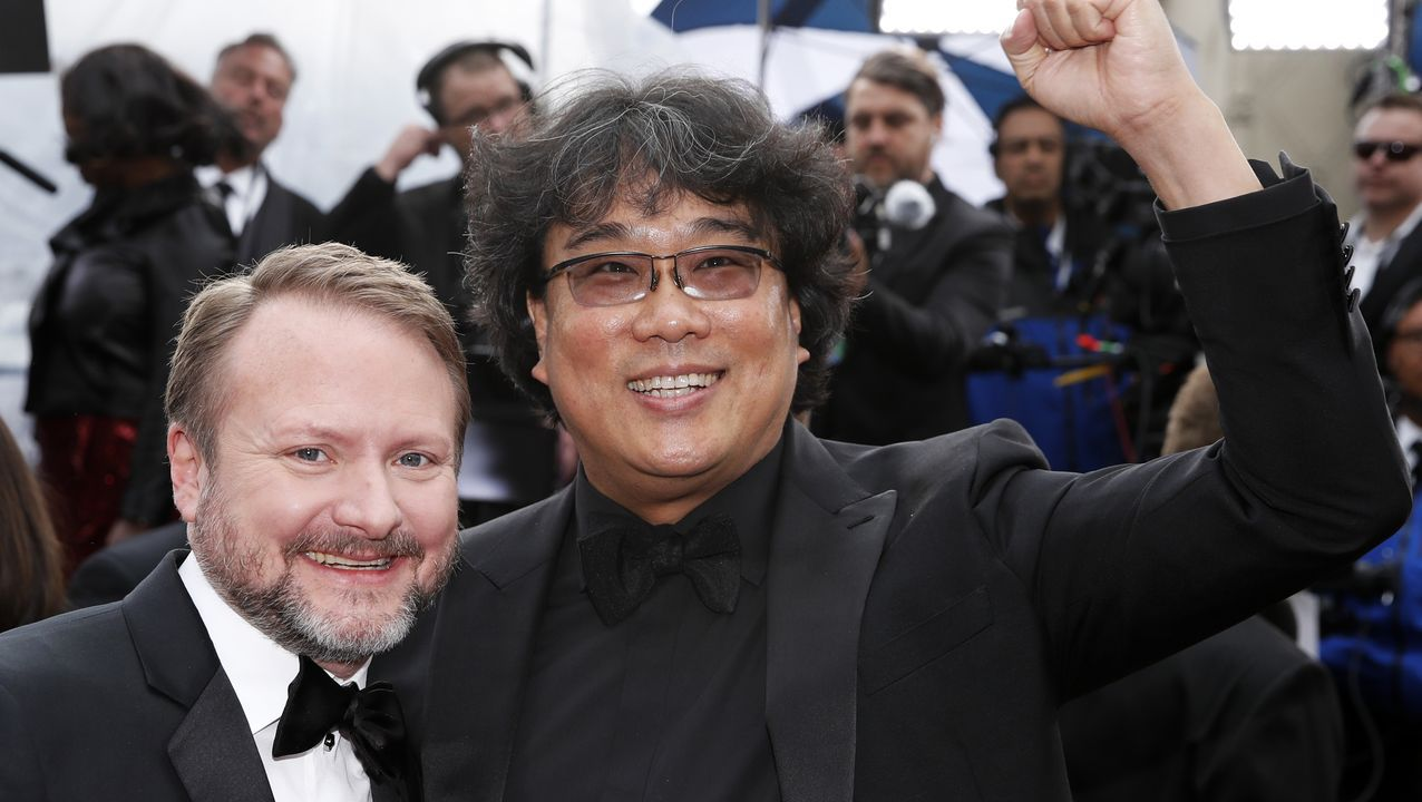 Rian Johnson y Bong Joon-ho