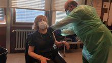 Vacunación a mayores de 80 años en A Coruña