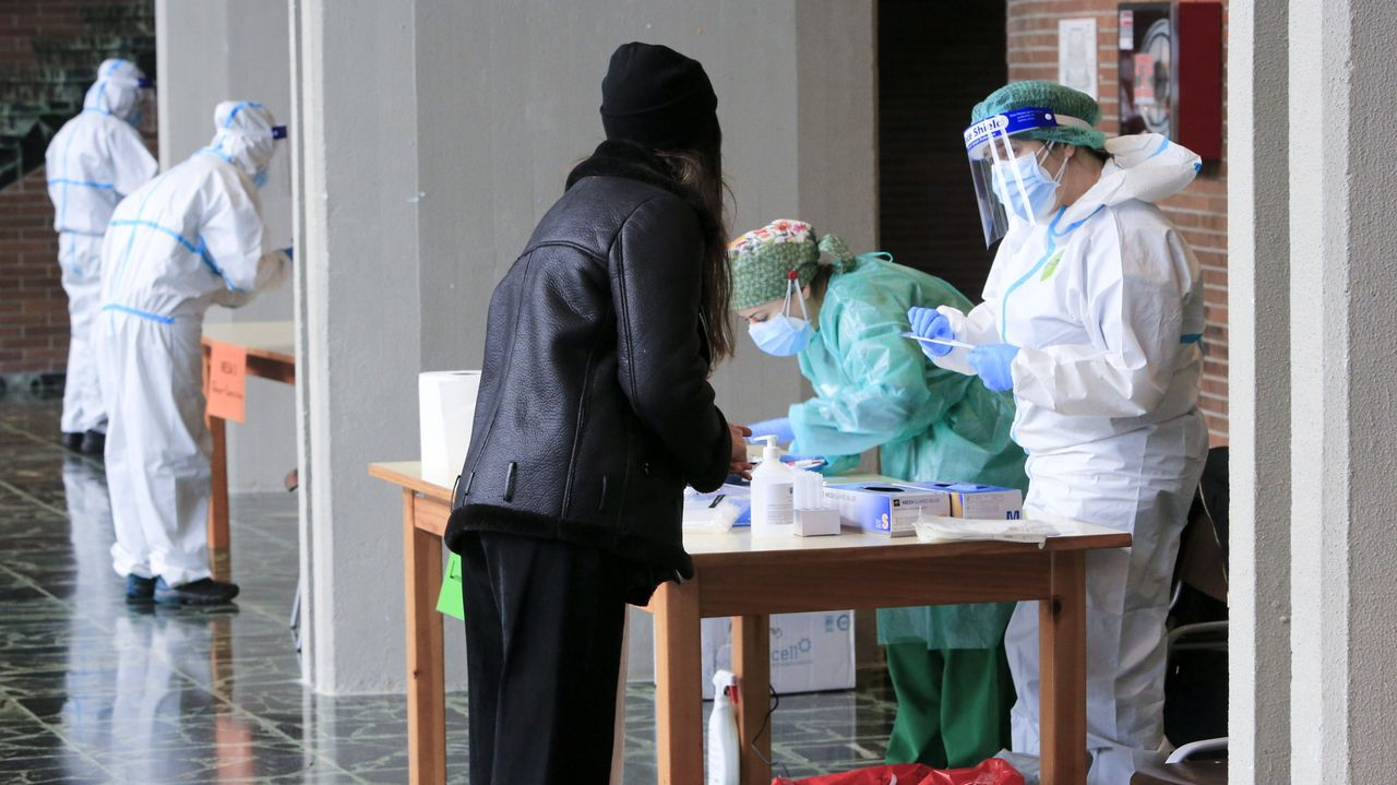 Este martes finalizó el cribado a los estudiantes del campus de Lugo