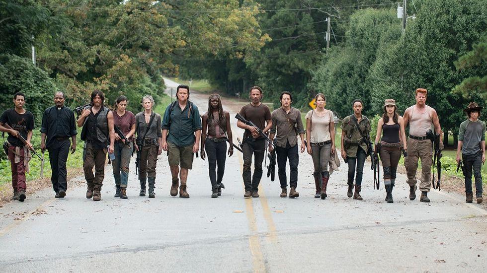 «The Walking Dead»: Promo de los nuevos episodios de la sexta temporada.Fábrica de GEA en Cabral, en estado ruinoso