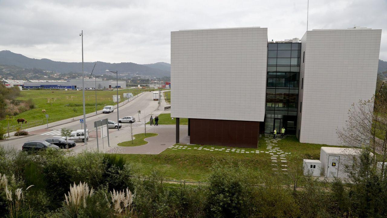Instalaciones del polígono de Porto do Molle