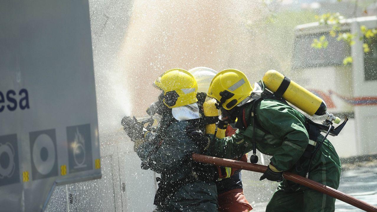 Chandebrito, tres años después de la devastadora ola de incendios.Incendio de Lobios el pasado 14 de septiembre