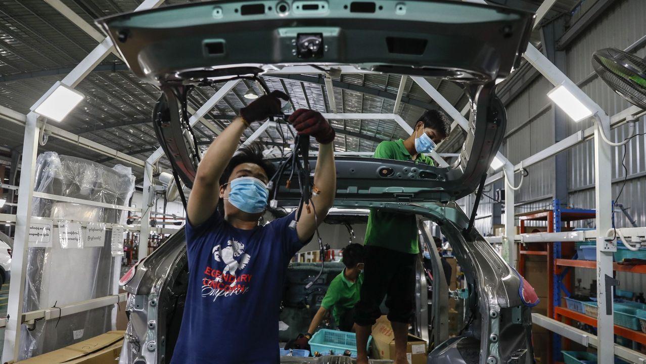 En Myanmar han reabierto las fábricas tras el parón por la pandemia