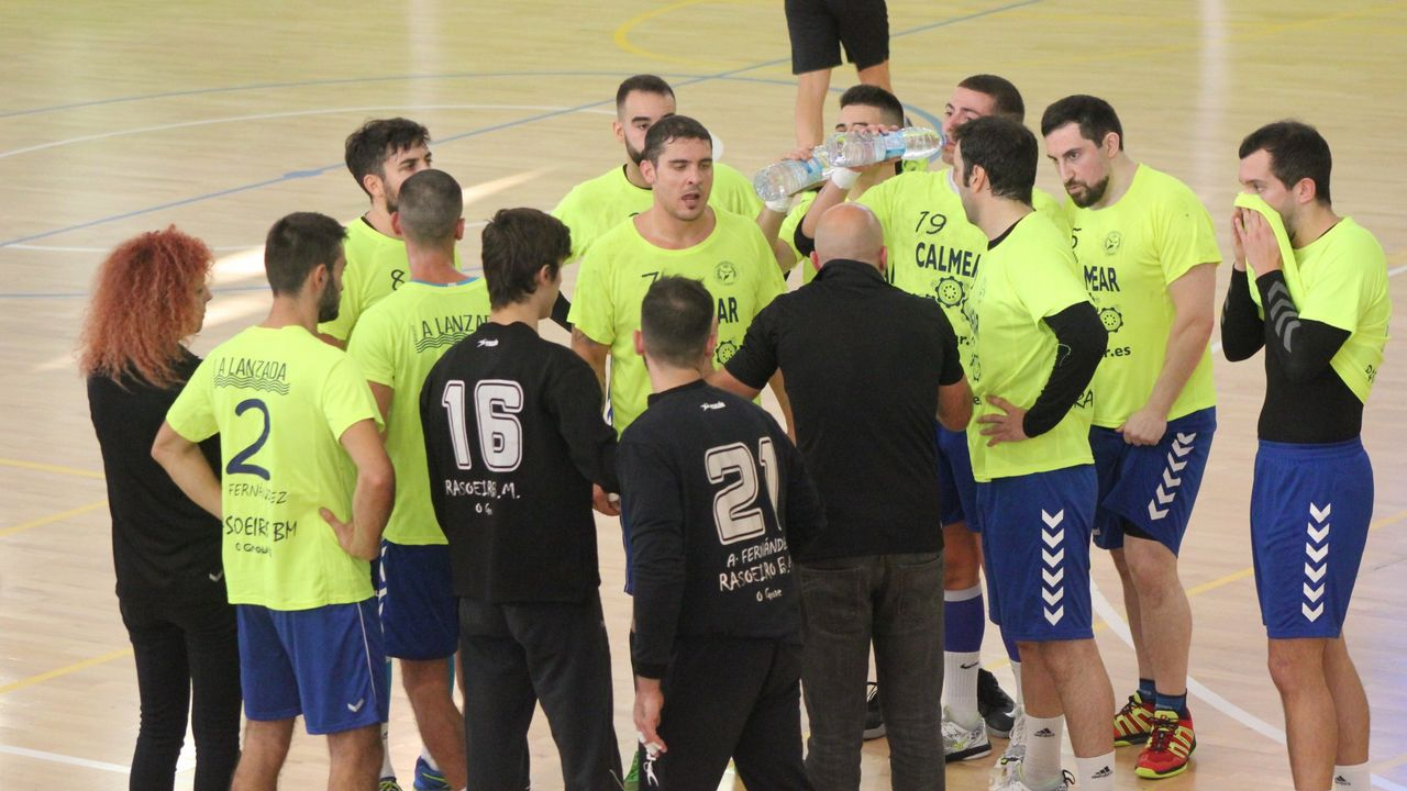 Repasa en imágenes el Calvo Xiria-Atlético Bueu:35-25