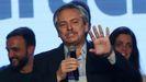 Alberto Fernández es candidato a las presidenciale, con la exmandataria Cristina Fernández como vicepresidenta