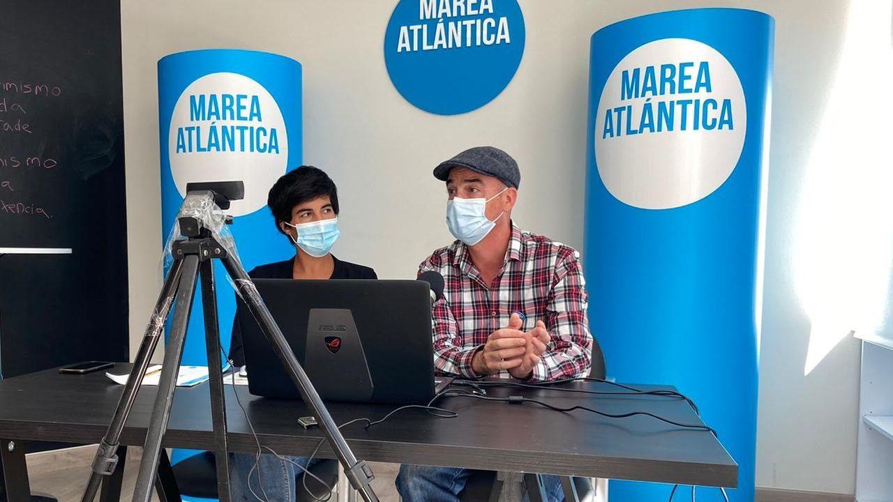 comercio.Presentación de «xanela de proxectos» del grupo Marea Atlántica