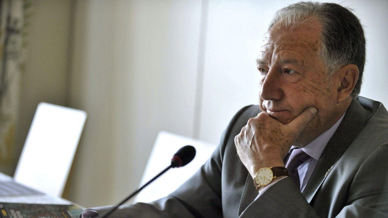 El exdirector del Centro Nacional de Inteligencia (CNI) Félix Sanz Roldán