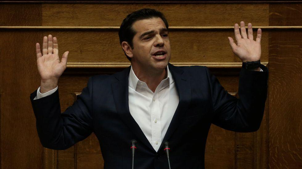IU responde con un vídeo a la denuncia de un ultra del Sporting.El líder de Nueva Democracia, Kyriakos Mitsotakis, en las elecciones municipales del domingo
