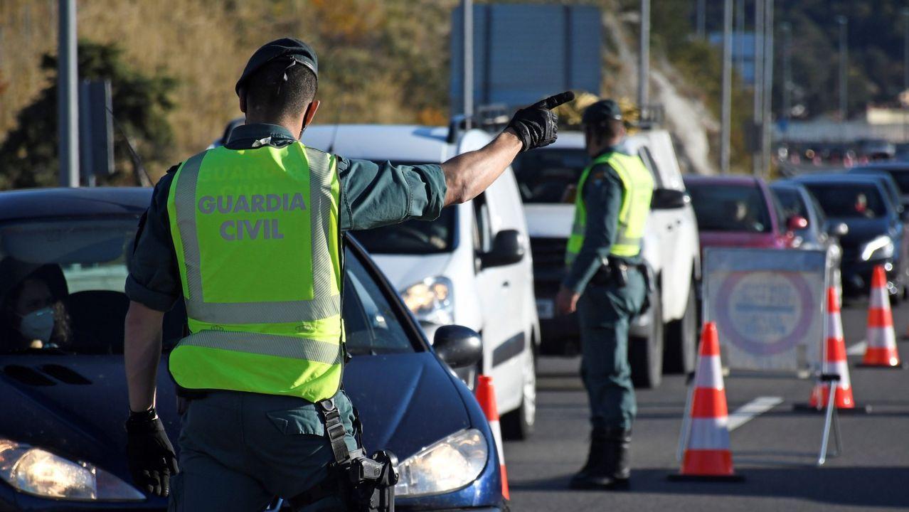 En directo: Comparecencia de los conselleiros de Sanidade y de Política Social.Controles a la altura de El Espinar, en el límite entre Segovia y Madrid