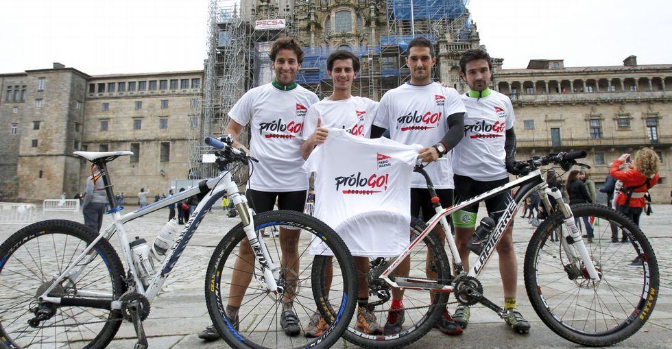 Florentino Lafuente, Luis Teira, Óscar Freire y Luis M. Martínez presentaron ProloGO! Project.