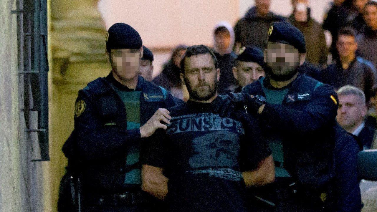 El presunto asesino del triple asesinato de Teruel pasa a disposición judicial.Cucho Hernández celebrando uno de sus goles al Zaragoza