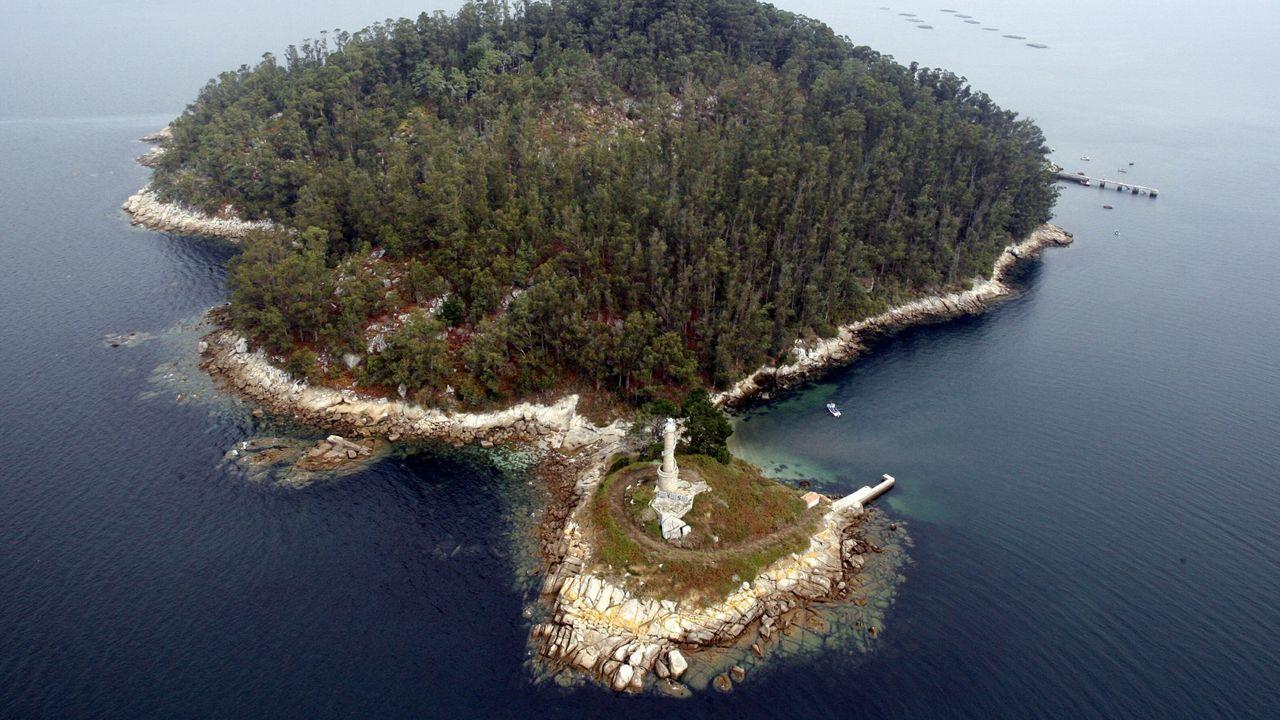 Vigo romano.Isla de Tambo.